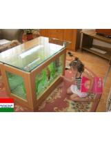 Akvatrend Dohányzóasztal akvárium 144 literes