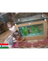 Akvatrend Dohányzóasztal akvárium 112 literes