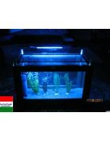 Tengeri Dohányzóasztal akvárium 144 literes
