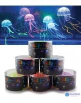 Medúza lebegő akvárium dekoráció (közepes)